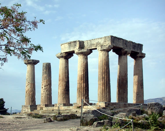 Temple of Apollo - Ancient Corinthos